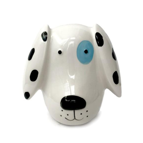 Cofre Decorativo Cachorro Malhado - Zimex