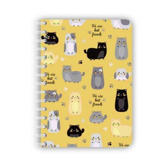 Caderno Mini Pet Gato - Redoma