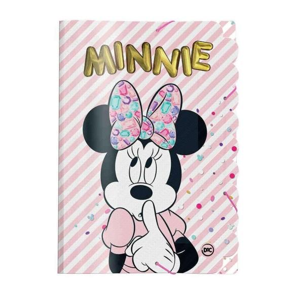 Pasta Aba Elástica Ofício Minnie Teen - Dac