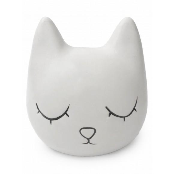 Cofre Decorativo Gato Branco - Zimex