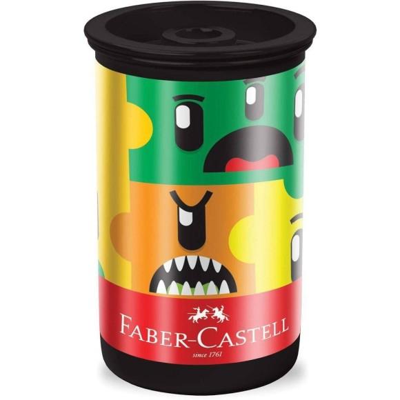Apontador Com Depósito Monster Puzzle - Faber Castell