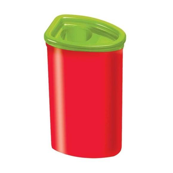 Apontador Com Depósito Jumbo Vermelho - Faber Castell