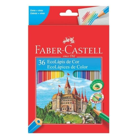 Ecolápis de Cor 36 Cores - Faber Castell