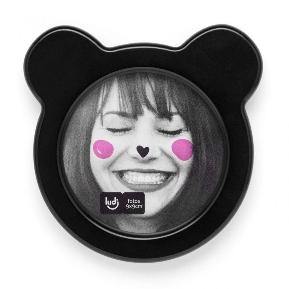 Porta Retrato Com Orelhinha Amo Panda - Ludi