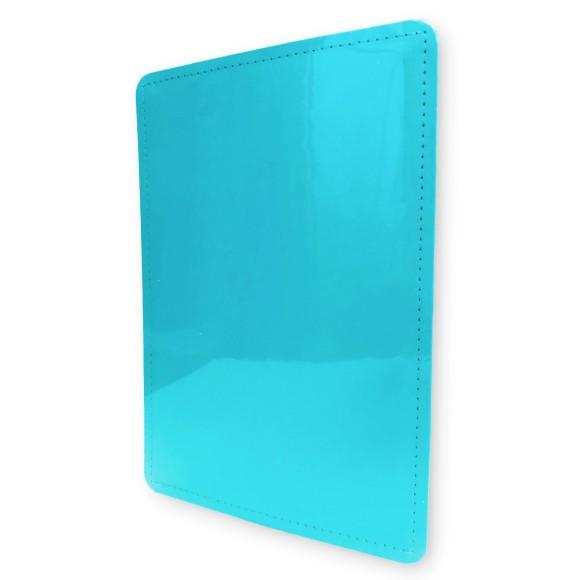 Capa e Contracapa Azul Celeste Médio - Caderno Inteligente