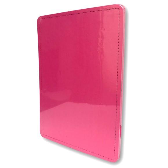 Capa e Contracapa Rosa Choque Médio - Caderno Inteligente