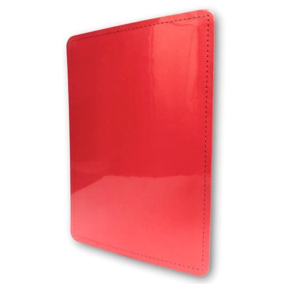 Capa e Contracapa Vermelho Cereja Médio - Caderno Inteligente