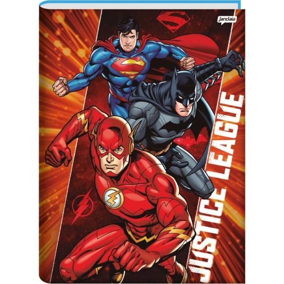 Caderno Brochura Universitário 96 Folhas Justice League - Jandaia
