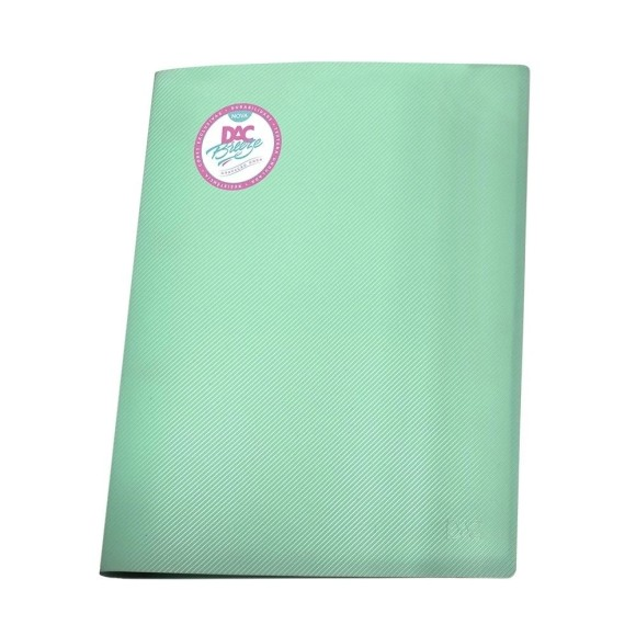 Pasta Catálogo A4 Breeze Pastel Verde - Dac