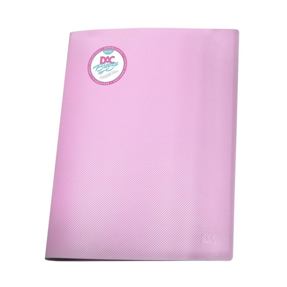 Pasta Catálogo A4 Breeze Pastel Rosa - Dac