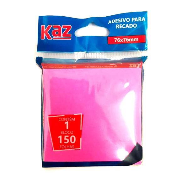 Adesivo Para Recado 4 Cores Neon - Kaz