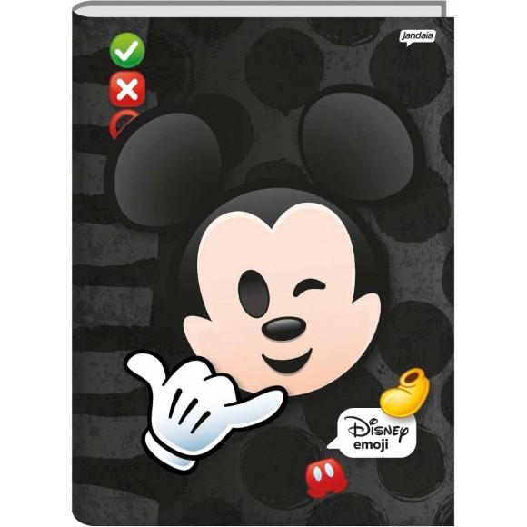 Caderno Brochura 1/4 48 Folhas Disney Emoji - Jandaia