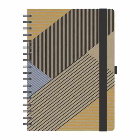 Caderno Médio Kraft - Redoma
