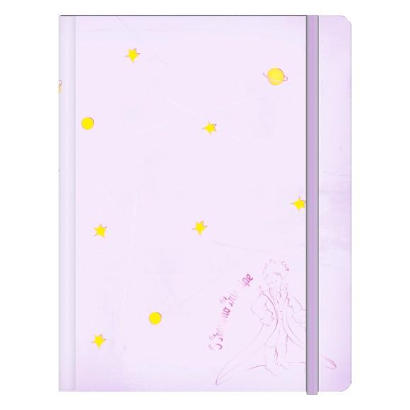 Caderneta M Pequeno Príncipe Lilás - Jandaia