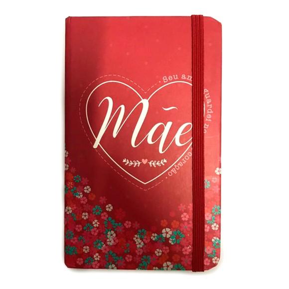 Caderneta Pequena Mãe Floral - FWB