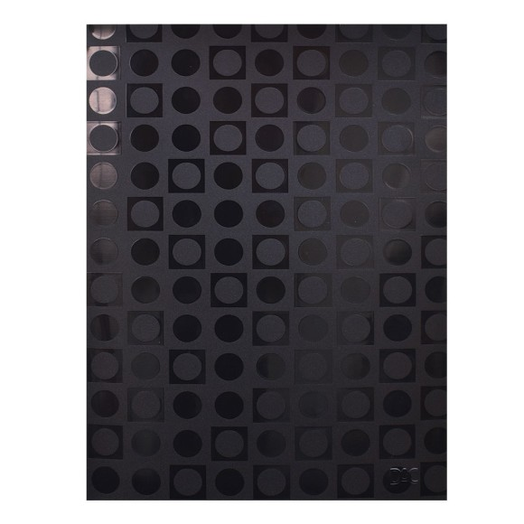 Pasta Catálogo Ofício Vision Decorada Com 50 Envelopes Preto - Dac