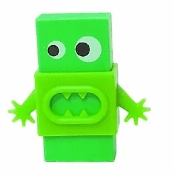 Borracha Monstrinho Verde - Kaz