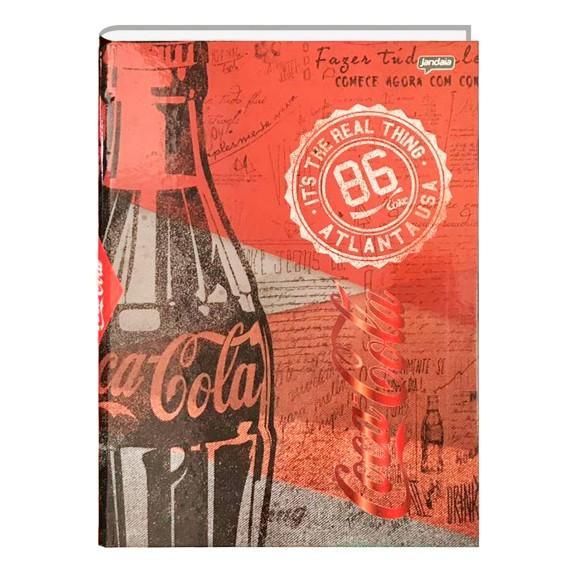 Caderno Brochura Universitário 96 Folhas Coca Cola - Jandaia