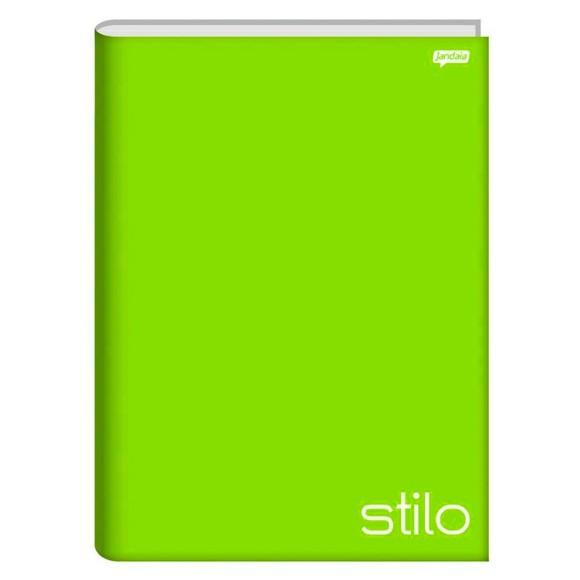 Caderno Brochura Universitário 96 Folhas Stilo Verde - Jandaia