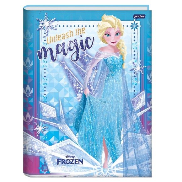 Caderno Brochura Universitário 96 Folhas Disney Frozen - Jandaia