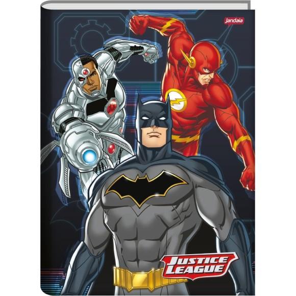 Caderno Brochura Universitário 48 Folhas Justice League - Jandaia