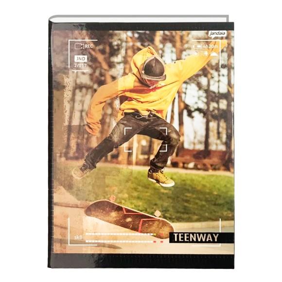 Caderno Brochura Universitário 48 Folhas TeenWay - Jandaia