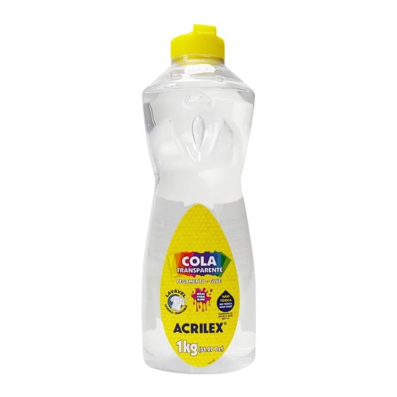 Cola Transparente 1kg - Acrilex