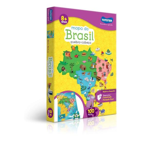 Quebra Cabeça Mapa do Brasil - Toyster