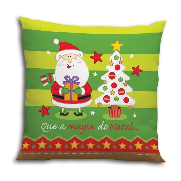 Almofada Quadrada Magia do Natal - Guthi