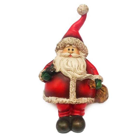 Papai Noel Decorativo Sentado - Santini
