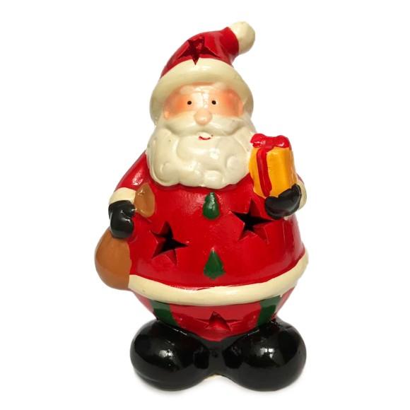 Papai Noel Decorativo Com Led -  Tomix