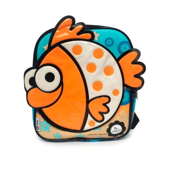 Mochila Infantil À Prova da Água Be Cutie Peixinho - Art Manual