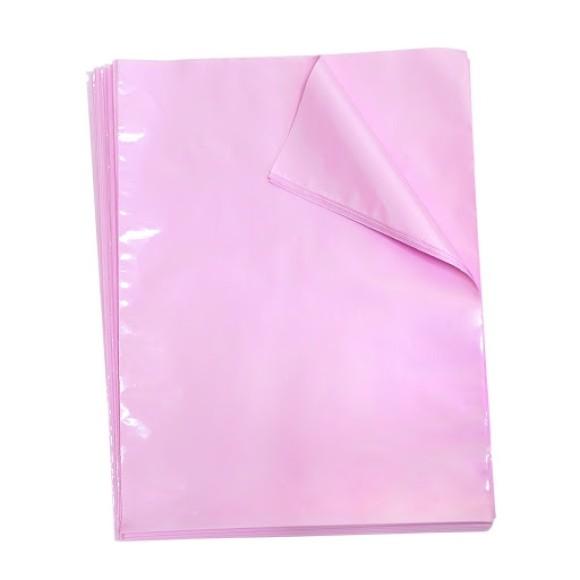 Embalagens Plásticas Multiuso 50 Unidades Ofício Rosa Pastel Breeze - Dac
