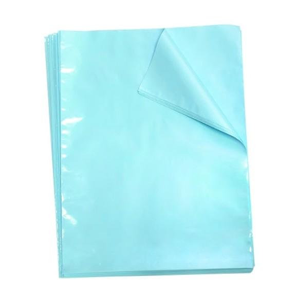 Embalagens Plásticas Multiuso 50 Unidades Ofício Azul Pastel Breeze - Dac