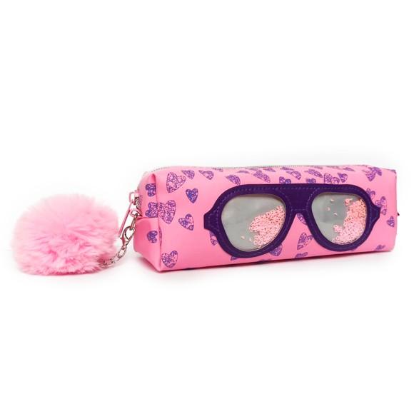 Estojo Infantil Glass Óculos Retrô Roxo - Daterra