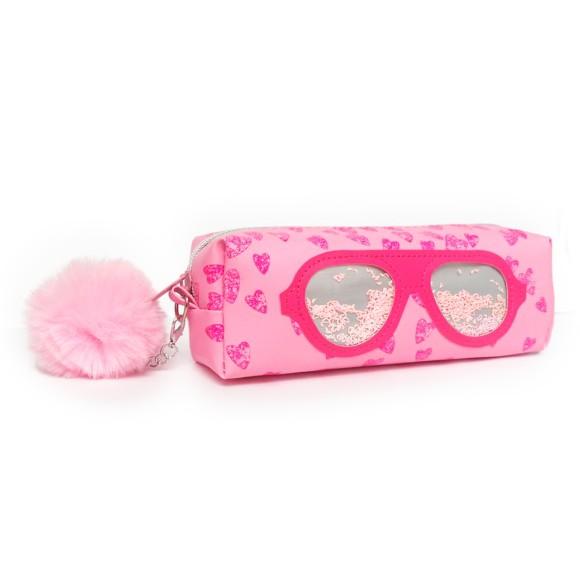 Estojo Infantil Glass Óculos Retrô Rosa - Daterra