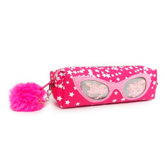 Estojo Infantil Glass Óculos Gatinho Rosa - Daterra