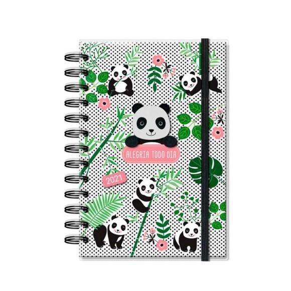 Agenda 2021 Diária M Panda - Fina Ideia