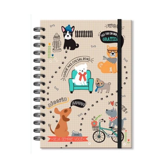 Caderno Clássico 96 Folhas Cachorro Amigo - Fina Ideia