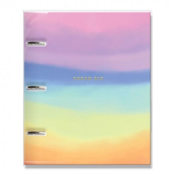 Caderno Argolado Fichário 120 Folhas Tie Dye - Fina Ideia