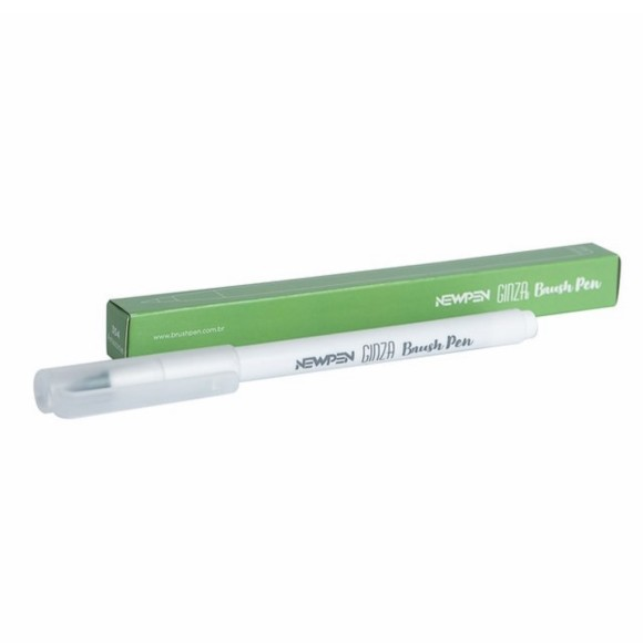 Brush Pen Ginza Pro Verde Amazonas 354 - NewPen