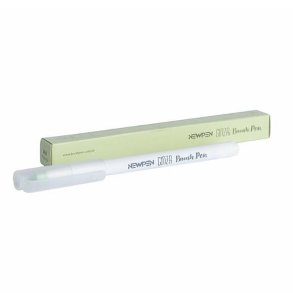 Brush Pen Ginza Pro Verde Menta 365 - NewPen