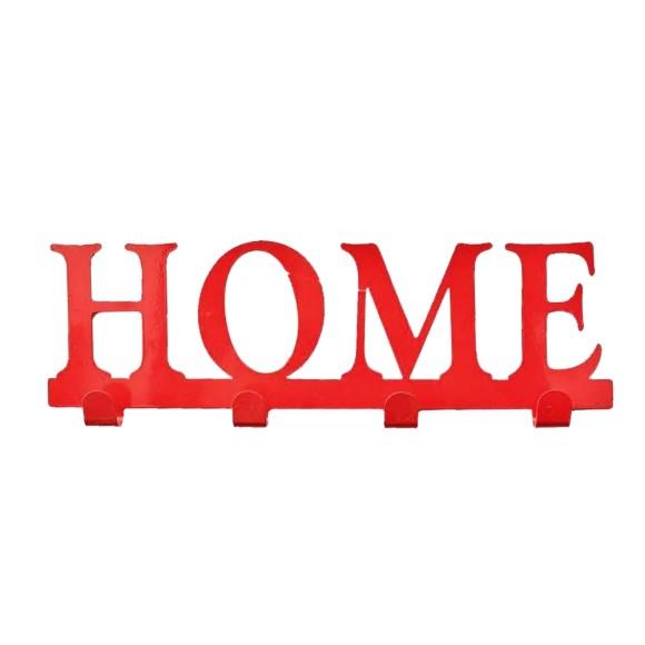 Gancho Formato Home Vermelho - Brás Continental