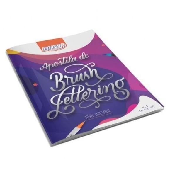 Apostila de Brush Lettering Nível Iniciante Volume 1 - BRW