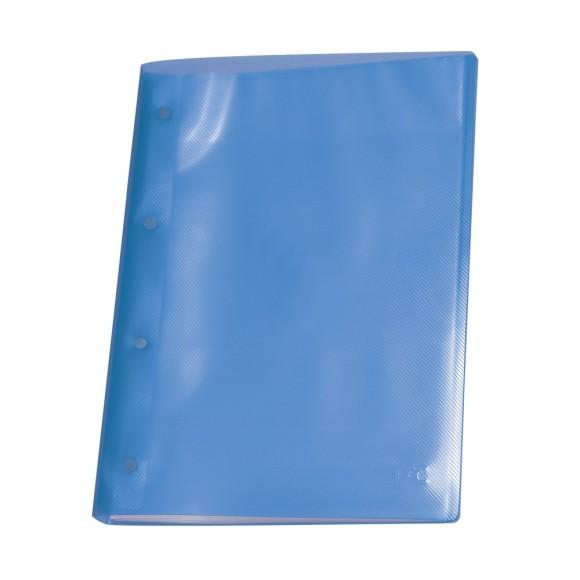 Pasta Catálogo A4 Line Com 10 Envelopes Azul - Dac