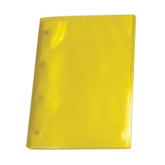 Pasta Catálogo A4 Line Com 10 Envelopes Amarela - Dac