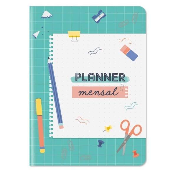 Planner Mensal Escola Verde - Cartões Gigantes