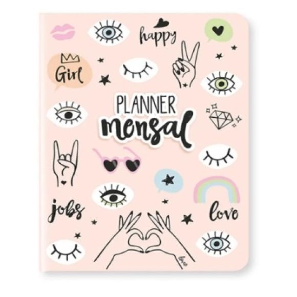 Planner Mensal Happy - Cartões Gigantes