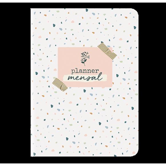 Planner Mensal Confete - Cartões Gigantes