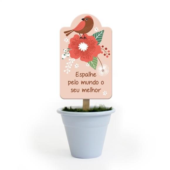 Mini Vaso Jardim Branco - Fina Ideia